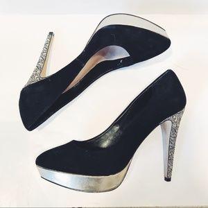 Vince Camuto Glitter Heels